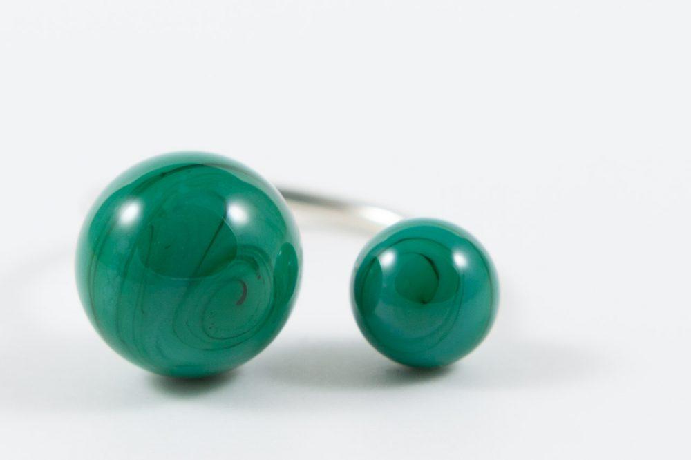 Glasperlen Unikatschmuck von schoene-perlen.de